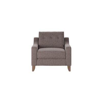 Logan Armchair Body Fabric: Shack Gunmetal