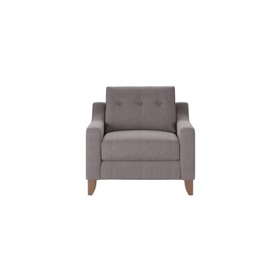 Logan Armchair Body Fabric: Tibby Pewter