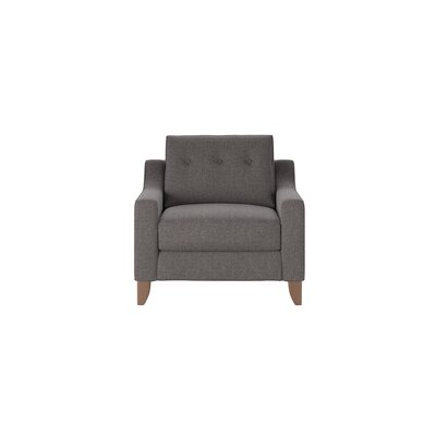 Logan Armchair Body Fabric: Lizzy Graphite