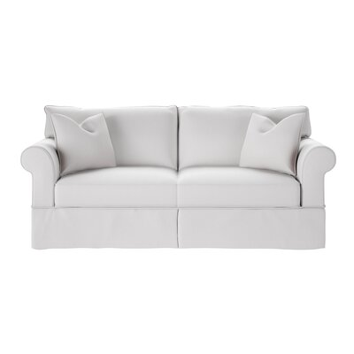 Felicity Sofa Body Fabric: Glynnlinen Optic White