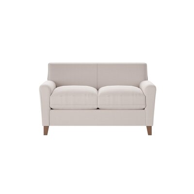 Grayson Loveseat Body Fabric: Draft Ivory