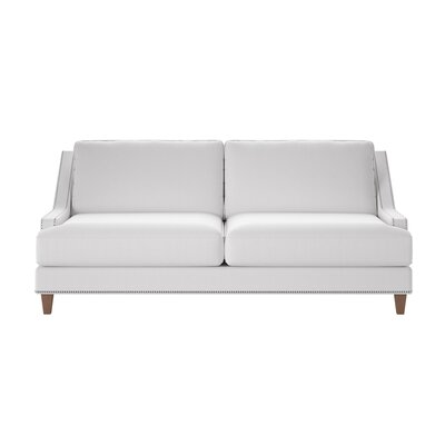 Paige Sofa Body Fabric: Glynnlinen Optic White