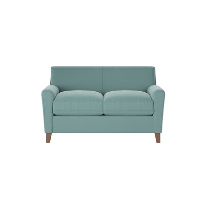 Grayson Loveseat Body Fabric: Spinnsol Azure
