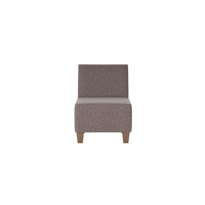 Jessalyn Slipper Chair Body Fabric: Shack Gunmetal