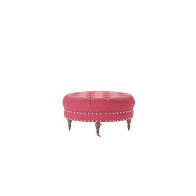 Wyatt Ottoman Body Fabric: Sunbrella� Flagship Red