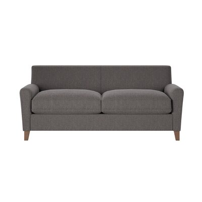 Grayson Sofa Body Fabric: Lizzy Graphite