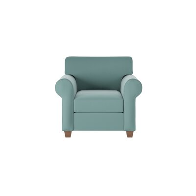 Eliza Armchair Body Fabric: Spinnsol Azure