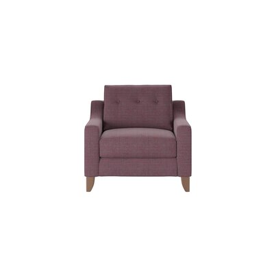 Logan Armchair Body Fabric: Pebble Berrycrush
