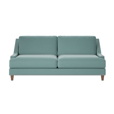 Paige Sofa Body Fabric: Spinnsol Azure