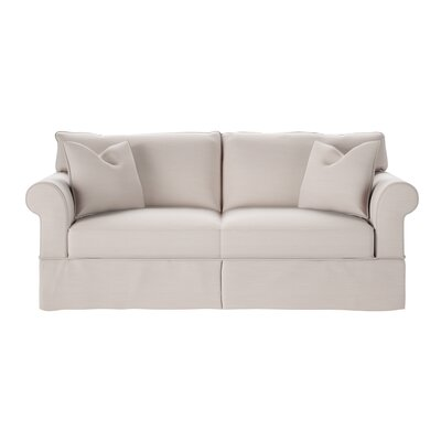 Felicity Sofa Body Fabric: Pebble Ivory