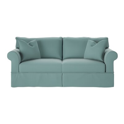 Felicity Sofa Body Fabric: Spinnsol Azure