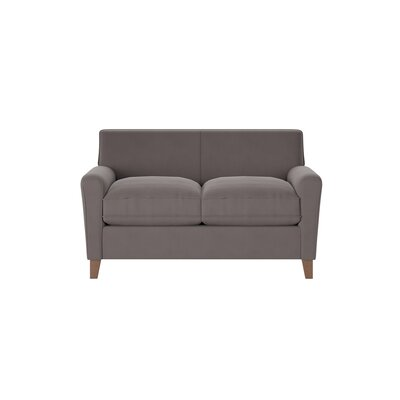 Grayson Loveseat Body Fabric: Spinnsol Iron