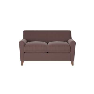 Grayson Loveseat Body Fabric: Godiva Espresso