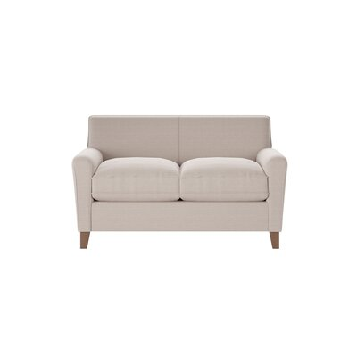 Grayson Loveseat Body Fabric: Hilo Flax