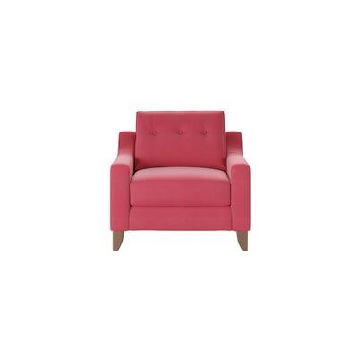 Logan Armchair Body Fabric: Sunbrella� Flagship Red