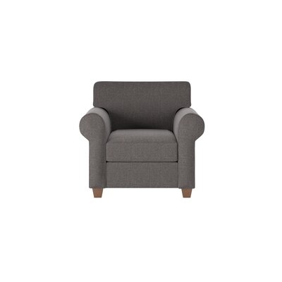 Eliza Armchair Body Fabric: Lizzy Graphite