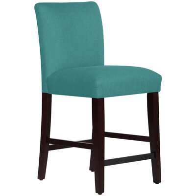 Connery 26 Bar Stool Body Fabric: Linen Laguna