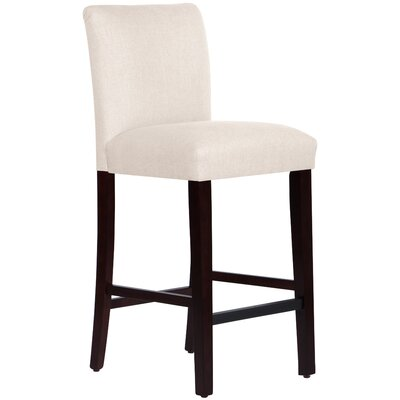 Connery 31 Bar Stool Body Fabric: Linen Talc