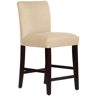 Connery 26 Bar Stool Body Fabric: Linen Sandstone