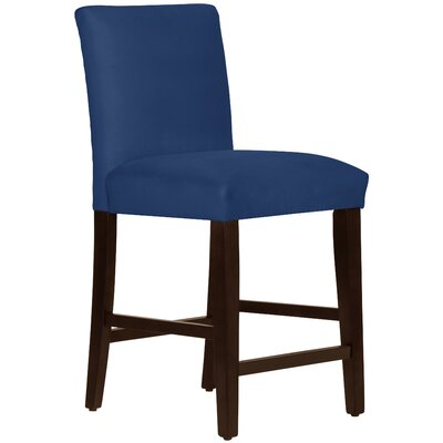 Connery 26 Bar Stool Body Fabric: Velvet Navy
