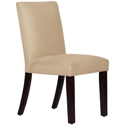 Connery Parsons Chair Body Fabric: Velvet Buckwheat