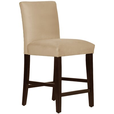 Connery 26 Bar Stool Body Fabric: Velvet Buckwheat