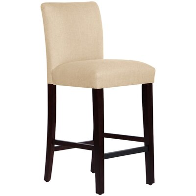 Connery 31 Bar Stool Body Fabric: Linen Sandstone