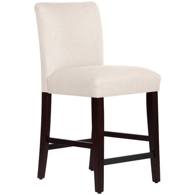 Connery 26 Bar Stool Body Fabric: Linen Talc