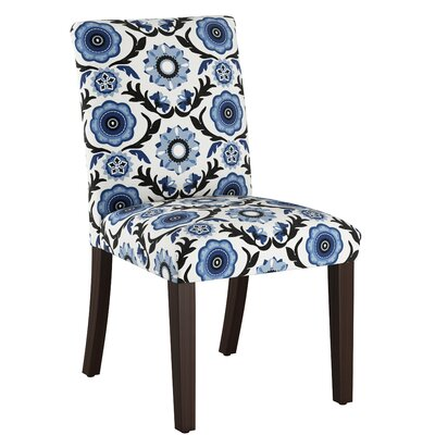 Connery Parsons Chair Body Fabric: Tulum Blue