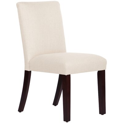 Connery Parsons Chair Body Fabric: Linen Talc