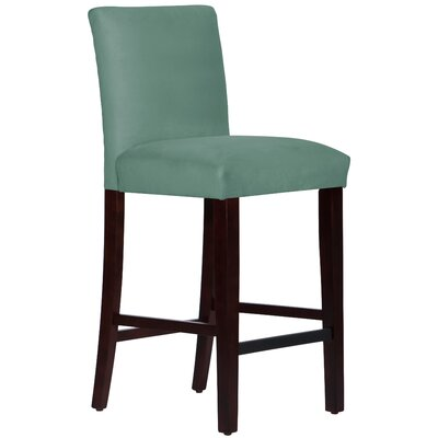 Connery 31 Bar Stool Body Fabric: Velvet Caribbean