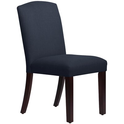 Nadia Parsons Chair Body Fabric: Linen Navy