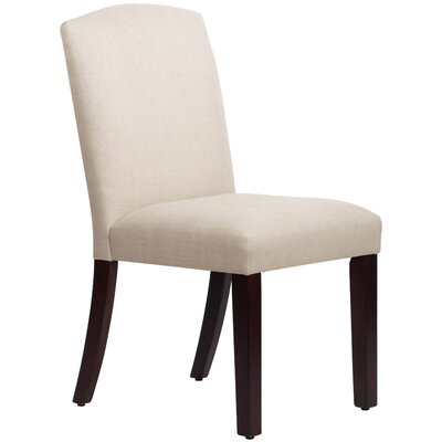 Nadia Parsons Chair Body Fabric: Linen Talc