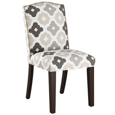 Nadia Parsons Chair with Nail Buttons Body Fabric: Sintra Taupe