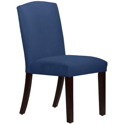 Nadia Parsons Chair Body Fabric: Velvet Navy