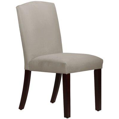 Nadia Parsons Chair Body Fabric: Velvet Light Grey
