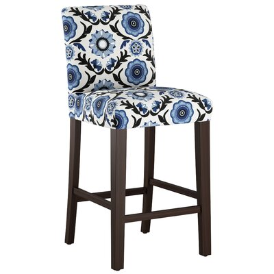 Connery 31 Bar Stool Body Fabric: Tulum Blue