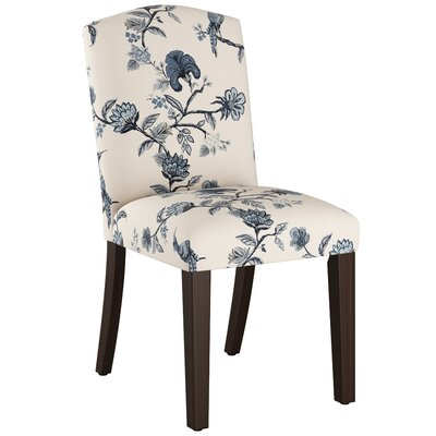 Nadia Parsons Chair Body Fabric: Shaana Indigo
