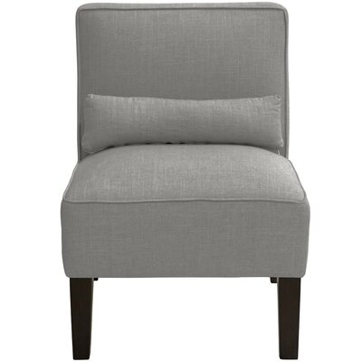 Thurston Slipper Chair Upholstery: Linen Grey