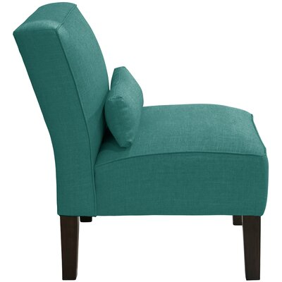 Thurston Slipper Chair Upholstery: Linen Laguna