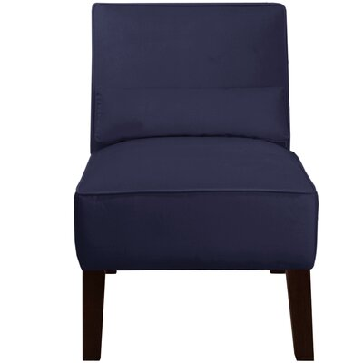 Thurston Slipper Chair Upholstery: Velvet Navy
