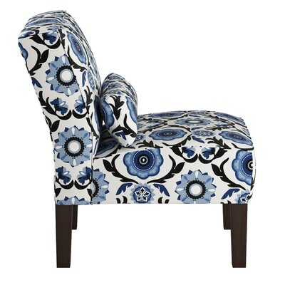 Thurston Slipper Chair Upholstery: Tulum Blue