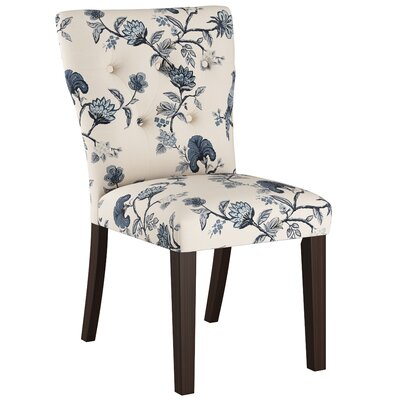 Evelina Side Chair Upholstery: Shaana Indigo