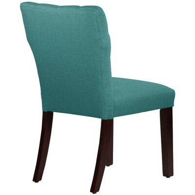 Evelina Side Chair Upholstery: Linen Laguna