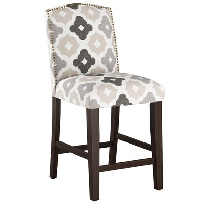 Nadia 26 Bar Stool Body Fabric: Sintra Taupe