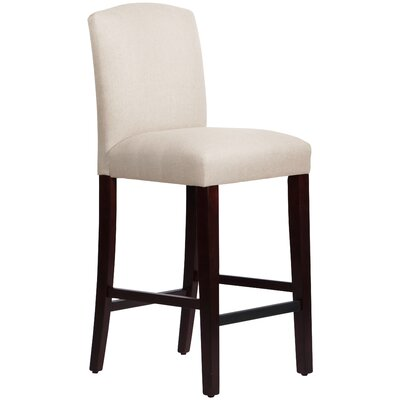 Nadia 31 Bar Stool Body Fabric: Linen Talc