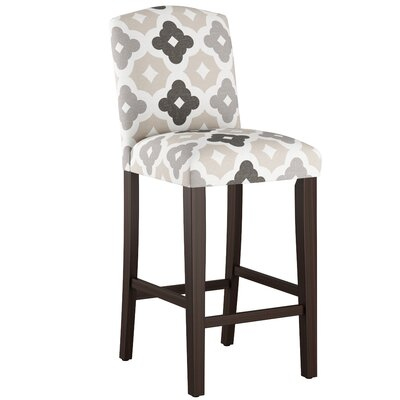 Nadia 31 Bar Stool Body Fabric: Sintra Taupe