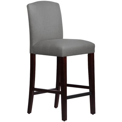 Nadia 31 Bar Stool Body Fabric: Linen Grey