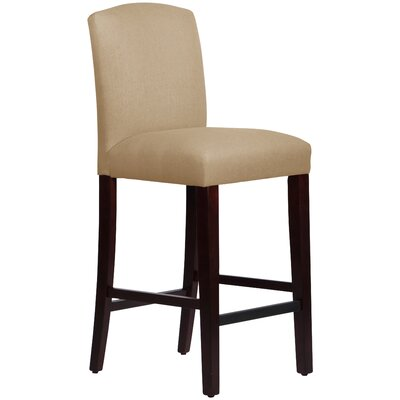 Nadia 31 Bar Stool Body Fabric: Linen Sandstone