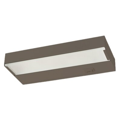 Image of 21.5 Xenon Under Cabinet Puck Light Finish: Bronze